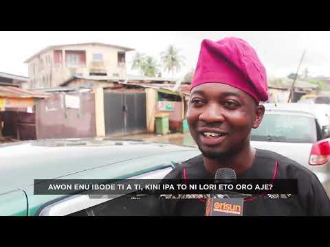 Ipa Wo Ni Titi Enu Ibode NI Lori Eto Oro Aje Nigeria Lori #OjumoIre Pelu Feyikemi Olayinka